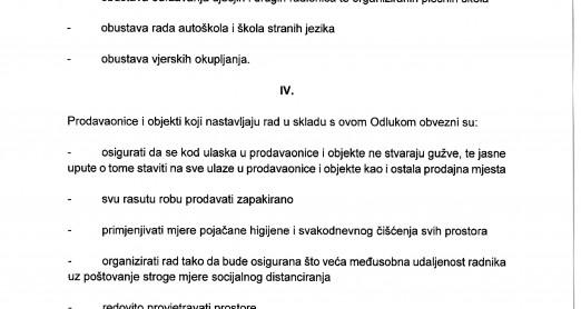 OBAVIJEST! COVID-19