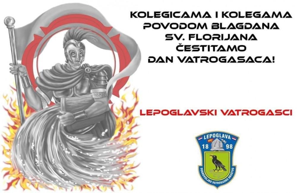 Čestitka povodom blagdana Sv. Florijana - zaštitnika vatrogasaca